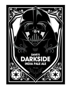 (via Dave's Imperial Beer Labels -... - Rebel Base - The Cool Stuff Star Wars Blog
