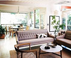Living room space decor