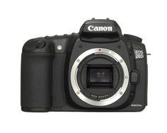 Canon - Canon EOS 20D 8.2MP Digital SLR Camera (Body Only)