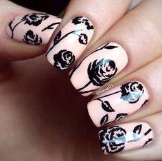 Ideas de manicura 💅💜💙💜 #manicura #belleza #estilo #manicure #beauty #fashion #chic #beautiful #nail #color