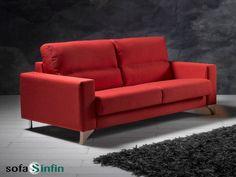 Sofá cama modelo Blas fabricado por Suinta en Sofassinfin.es