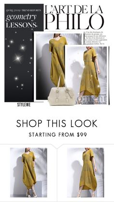 """Stylewe I/7."" by adelisamujkic ❤ liked on Polyvore featuring dress, bag and stylewe"