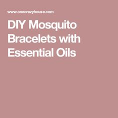 DIY Mosquito Bracelets with Essential Oils Diy Mosquito Repellent, Mosquito Repellent Bracelet, Homemade Mosquito Spray, Essential Oil Blends, Essential Oils, Young Living, Crafts To Make, Backpacking, Bugs