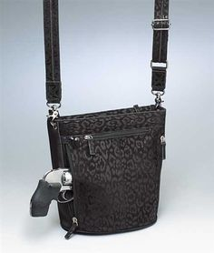 Buy our GTM Bucket Tote Gun Purse. - Debossed Sueded Leather Holster Gun Purse. Free shipping