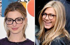 Famosas arrasando com com óculos super estilosos! http://vilamulher.com.br/moda/acessorios/famosas-que-usam-oculos-de-grau-14-1-34-328.html