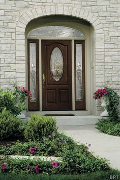 Image result for transforming front door with sidelights