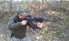 one of my guns...