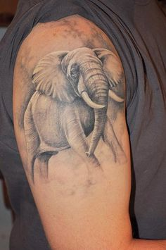 elephant tattoos | Elephant Tattoo Designs