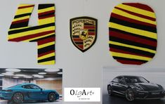 Compleanno, 40 anni, tableau, dettagli, numeri, macchina, Porsche, birthday, details, numbers, car, auto, OlgArt Porsche Logo, Logos, Vehicles, Board, A Logo, Car, Vehicle, Logo, Legos
