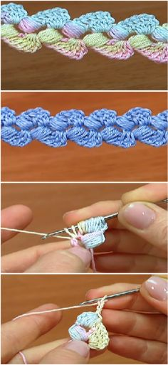 double sided crochet cord