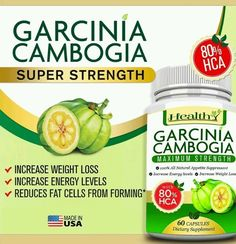 100% Pure Garcinia Cambogia Extract 80% HCA MAX Weight Loss Diet Pill Fat Burner in Health & Beauty, Vitamins & Dietary Supplements, Weight Management | eBay