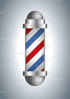 Barber shop pole. Objects. $5.00