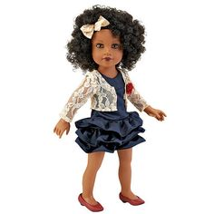 "Journey Girls 18 inch Doll - Chavonne (Navy Dress) -  Toys R Us - Toys""R""Us"