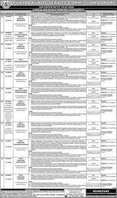 PPSC Jobs Advertisement No. 27-2021 Online Apply