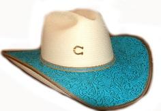 charlie 1 horse straw hat, charlie 1 horse blue blazes