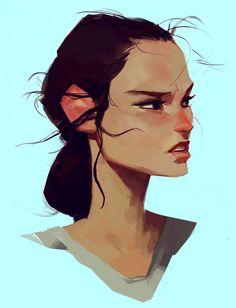 Rey by samuelyounart on @DeviantArt