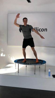 Jump Workout, Flat Tummy Workout, Cardio, Trampolines, Bellicon Training, Mini Trampoline Workout, Fitness Video, Cellulite Exercises, Gymnastics Videos