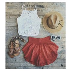 Top 16 Boho Outfits With Fabric Short – Famous Spring Summer Fashion Design - Easy Idea Summer Wear, Spring Summer Fashion, Spring Outfits, Cute Outfits For Summer, Cute Beach Outfits, Summertime Outfits, Summer Winter, Dress Summer, Look Fashion