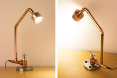 PIPESTORY Pipe lamp / Copper lamp /Copper pipe от PipeStoryLamp