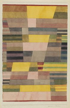 Monument en pays fertile 1929 Paul Klee                                                                                                                                                                                 Plus