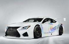 Lexus RC F GT3 Racing Concept threatens to go racing