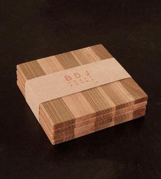 Wood Coaster Set - Maple