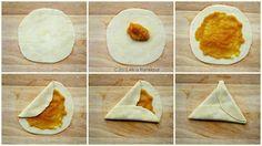 How to fold a Guyanese pine tart!