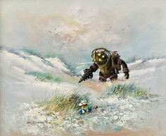 Old Thrift Store Paintings By Dave Pollot You'll Actually Want To Take Home