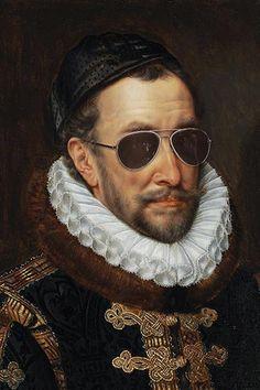Dutch masters with a twist - Adriaen Thomasz Key - Willem I