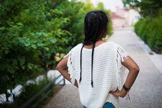 Léonatherapy, blog féminin afro lifestyle, blog de maman : Mon pull d'été à franges