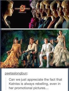 The Hunger Games/ Catching Fire