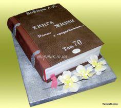 book cake Book Cakes, Box, Tableware, Music, Musica, Snare Drum, Dinnerware, Musik, Tablewares