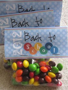 back to school favors printable