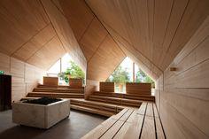 Jordanbad Sauna Village / Jeschke Architektur&Planung, © Sandra Wolf