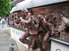Pilots 'Scramble' - Battle of Britain Memorial, London