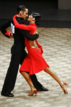Tango Tango! Is there anything more sensual and sexy than latin american dancing?
