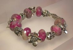 Trollbeads 2013 Mother's Day Release Ruby Rock, The Messeger and Mom's Bouquet