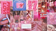 Pink Aesthetic Vintage Collage Cute Laptop Wallpaper, Mac Wallpaper, Aesthetic Desktop Wallpaper, Macbook Wallpaper, Pink Wallpaper Iphone, Computer Wallpaper, Wallpaper Backgrounds, Wallpaper Notebook, Walpapper Vintage