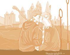 Destiel Hogwarts AU