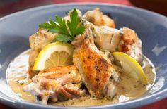 Κοτόπουλο+ψητό+με+λεμονάτη+σάλτσα+γιαουρτιού