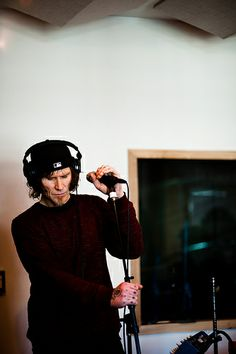 Performing live at KEXP In-Studio. Mark Lanegan, Punk, Singer, Studio, Live, Musica, Singers, Studios, Punk Rock