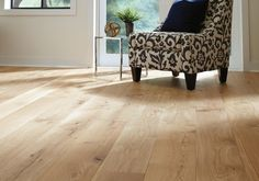 Flooring Trends To Follow in 2017 | Carlisle Wide Plank Floors...If you don't want a dark wood floor, the other choice is to go blonde or absolutely natural. This look is fresh and inviting and easy to update.  Learn more on the blog.