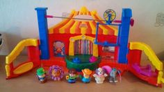 Fisher Price Little people circus playset with sounds