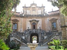 Villa Palagonia in Bagheria, Sicily