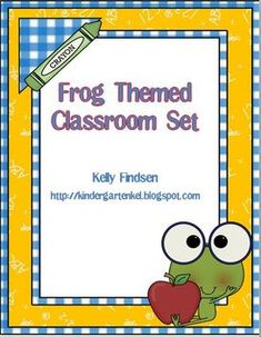 This is a mega (80 pages) PDF file  of frog-themed displays to decorate your primary classroom!  You will be organized and coordinated with froggy ...