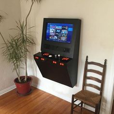Polycade – Wall Mounted Arcade Cabinet