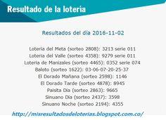 Resultado de la Lotería: Resultados-De las-loterias-de-colombia-02-de-novie...