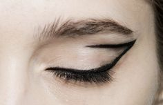 Anna Sheffield / whether you see it as a cat eye or calligraphic...
