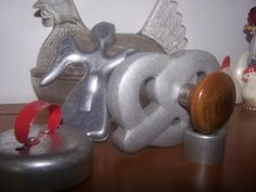Antique Cookie Cutters and Pretzel Press by WildGooseChase for $7.99