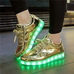 Femme led luminous shoes Usb Charge lights up Men&women colorfull glowing shoe neon casual basket trainers 11 Colors Led shoes